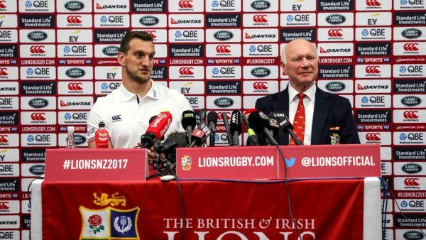 British & Irish Lions team to play New Zealand Provincial Barbarians
