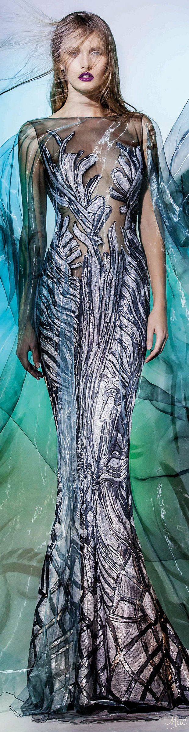 "Fall 2016 Haute Couture - Blanka Matragi ""Elements: ""Aqua"", 2017 Collection"