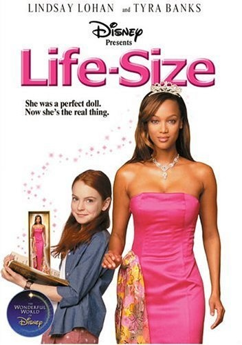 Tyra Banks. Back then We didn't even know WHO SHE WAS. And Lindsay Lohan all innocent and sweet. <3 :')