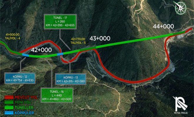 Tirebolu-Torul Yolu Projesi'nin İhalesi 40 Yıl Sonra Yapıldı