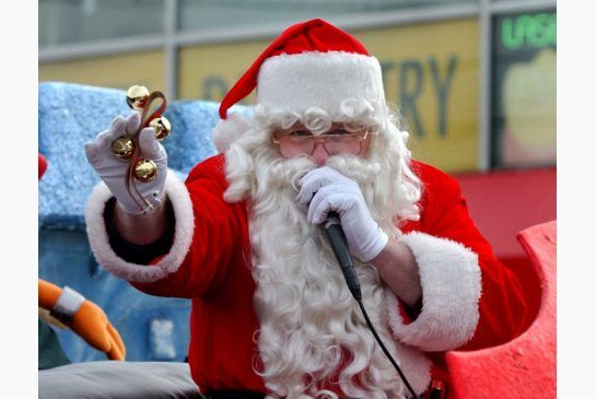 Toronto Santa Claus parade 2013