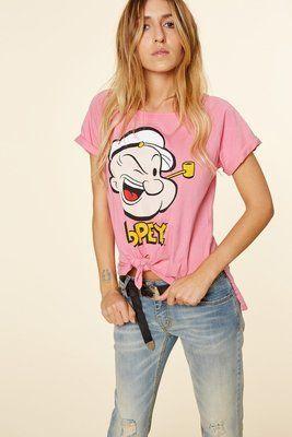 """T-shirt """"popeye"""" Aniye By  TAGLIE: S - M (scrivi la tua taglia nelle note più avanti)"""