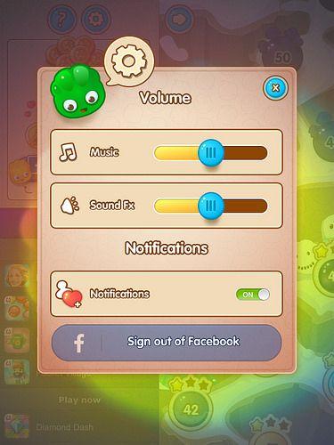 menu settings game design ui ux