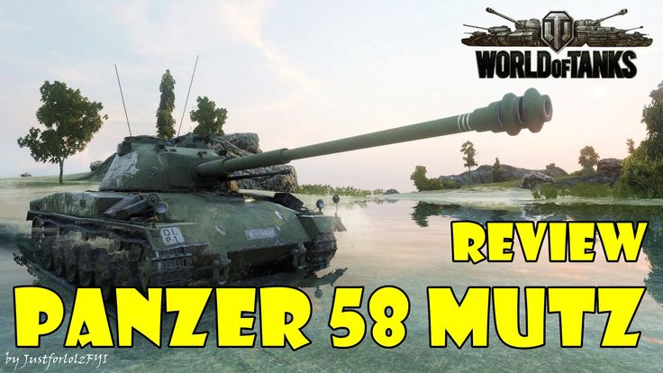 World of Tanks - Panzer 58 Mutz Review & Gameplay
