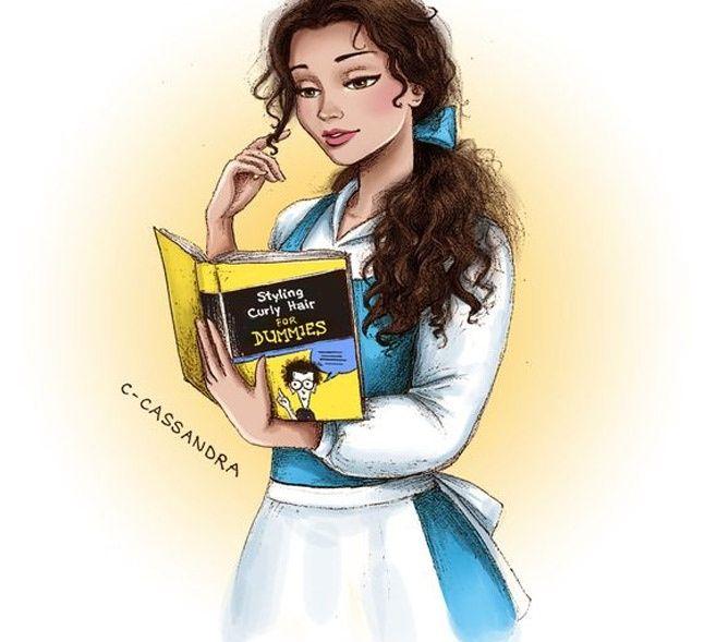 Quando princesas da Disney têm sérios problemas com seus cabelos | Satirinhas