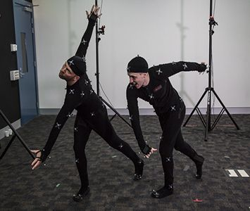Working with our Motion Capture technology for our Animation, Game Development and Film & TV Production courses at JMC Academy! www.jmcacademy.edu.au