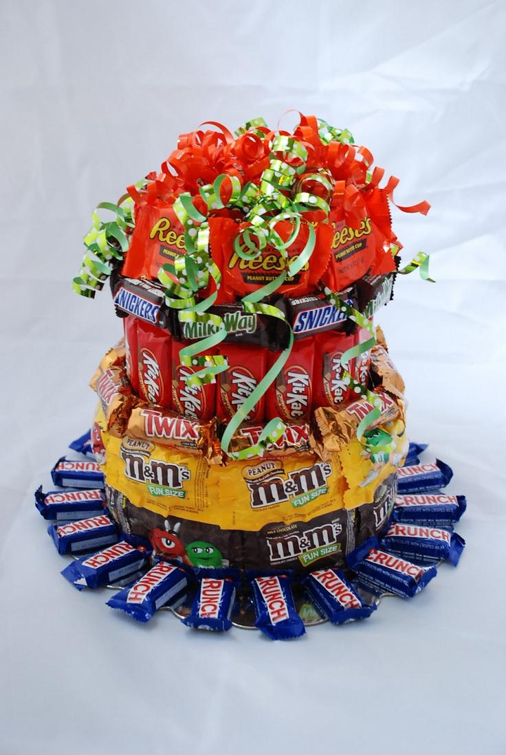 Candy Cake - Everything Chocolate. $35.00, via Etsy.