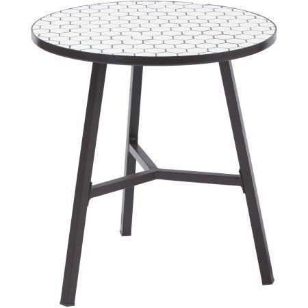 Free 2-day shipping. Buy Better Homes and Gardens Camrose Farmhouse Mosaic Tile Top Table at Walmart.com