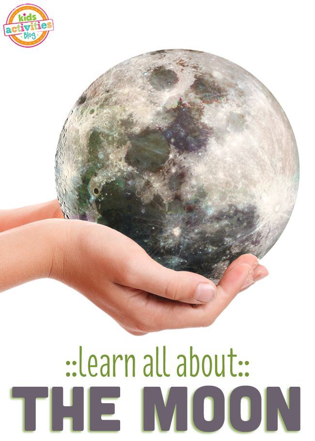 10 ways to learn about the moon is the perfect activity for kids during the summer when the days are longer!  Gotta pin this for later - especially for when there is a full moon like tonight!!