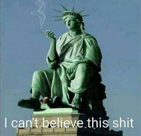 I feel your pain, Lady Liberty!!!