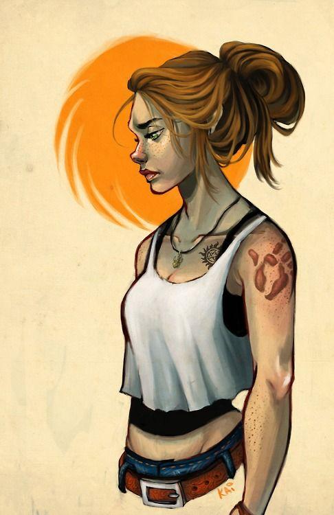 Female!Dean, by Kai-Art | Tumblr