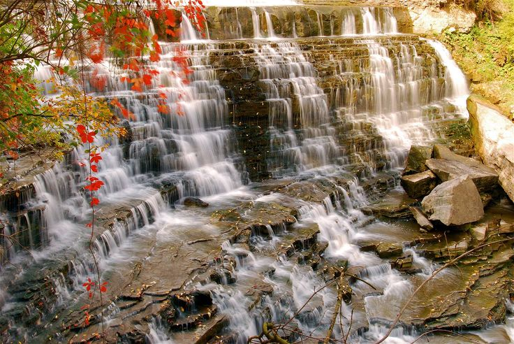 The beauty of Albion Falls,by Mark Harris