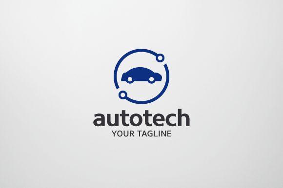Auto Tech Logo by brandphant on @creativemarket