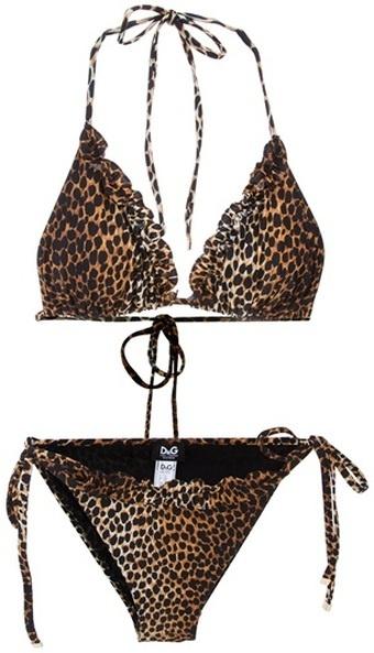 <3 if I were ever skinny again !: Bikinis Hot, Halterneck Bikinis, Swimwear Sexy, Bikinis Models, Ahh Summertime, Leopards Prints, Animal Prints, Hot Bikinis, Ruffles