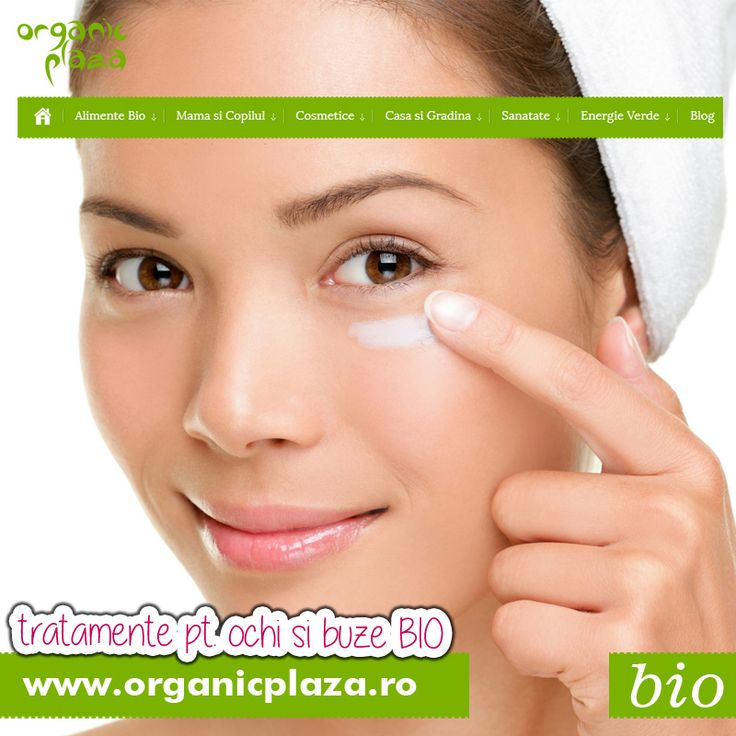 Tratamente Bio pentru ochi si buze! 10% reducere cu codul ECOCHI http://organicplaza.ro/ochi-si-buze