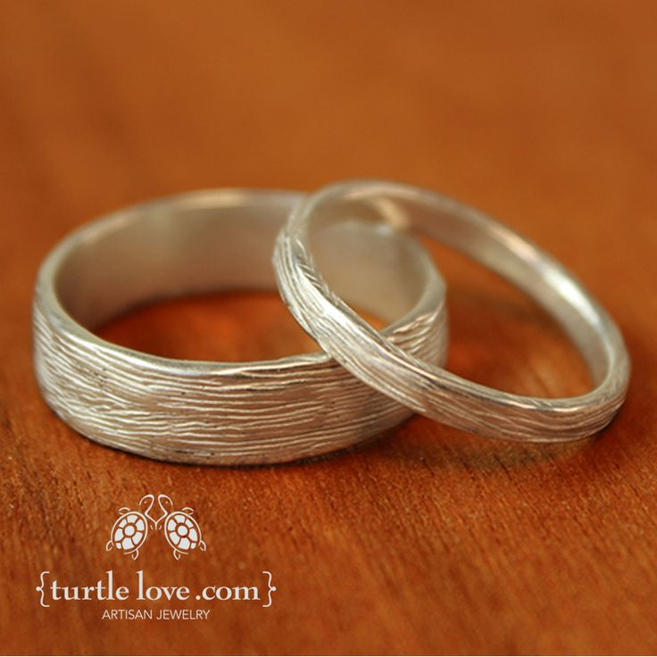 channel your inner forest nymph with rustic nature inspired rings from turtle love - Ring Wedding