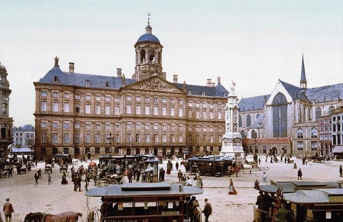 Bijzondere kleurenfoto's: Zo mooi was Amsterdam rond 1900 - Nieuws - Droomplekken