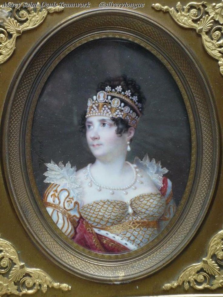Portrait de l'impératrice Joséphine.