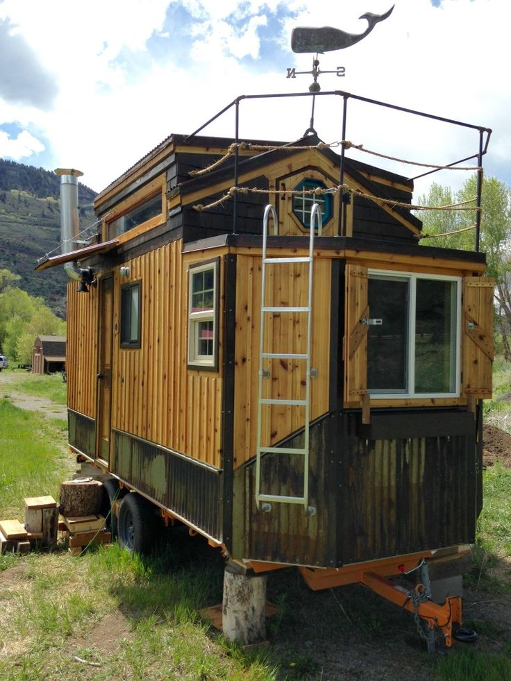 717 best Tiny Houses images on Pinterest Small houses Tiny