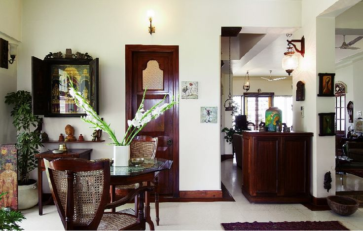 Love the creative way the tanjore painting is framed. Found on Inside-Outside mag.