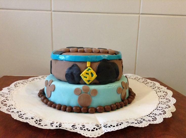 Torta scooby doo - kuky