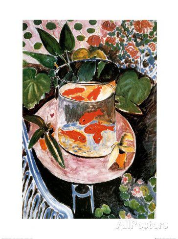 Poissons rouges Affiches par Henri Matisse sur AllPosters.fr