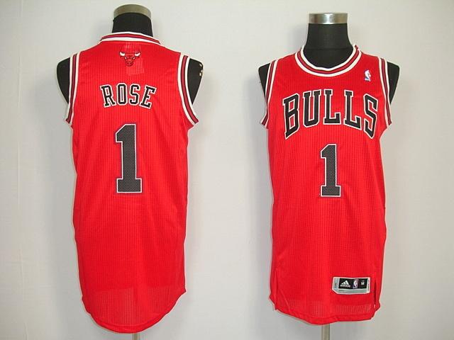 Chicago Bulls 01 Derrick Rose Red Revolution30 Jerseys $18.99