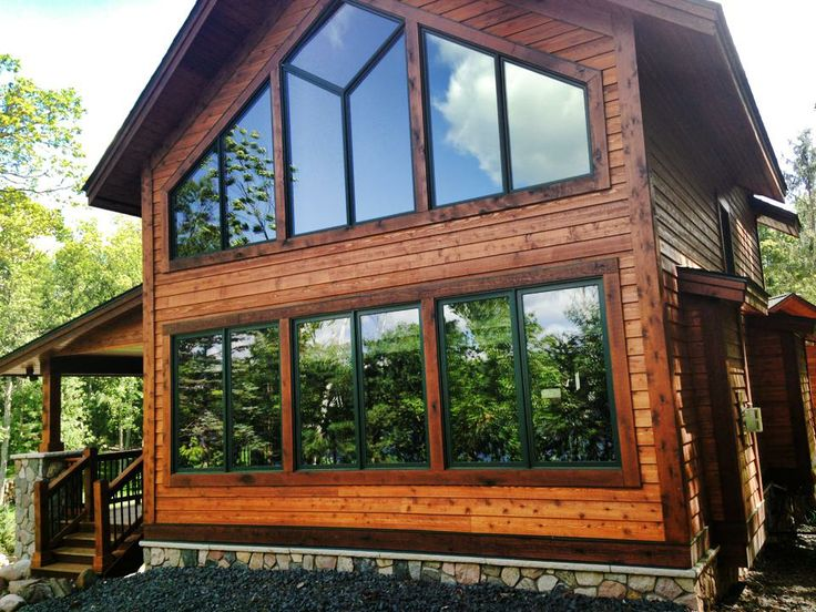 3M Prestige and Night Vision Window films used on this beautiful cabin