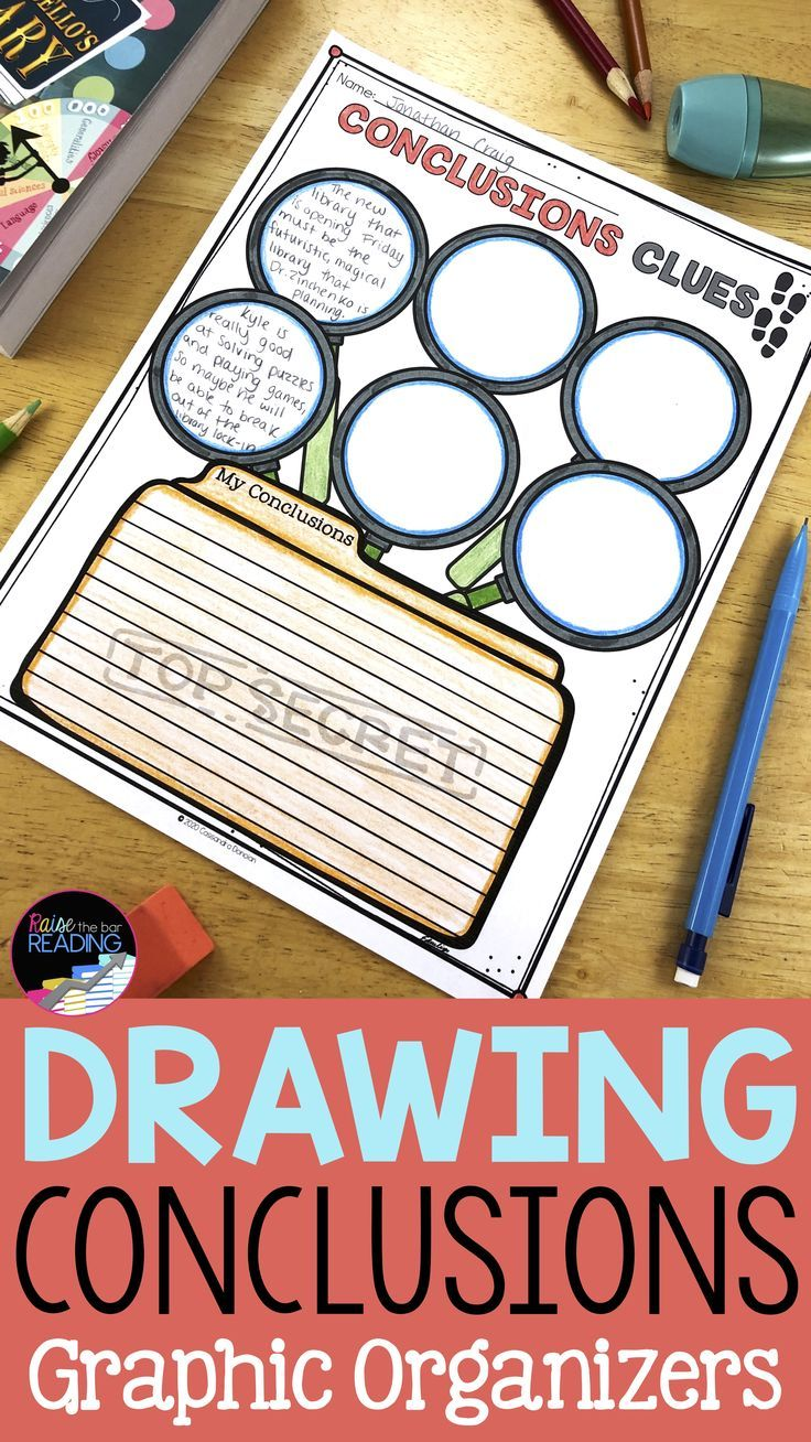 Drawing Conclusions Graphic Organizers Graphic Organizers Drawing Conclusions Activity Drawing Conclusions [ 1308 x 736 Pixel ]