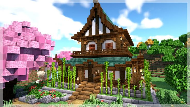 Minecraft: How to Build an Ultimate Japanese House ...