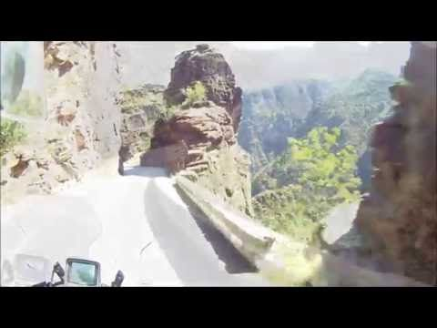 VIDEO ROUTE GORGES DE DALUIS - FRANCIA