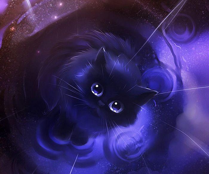 L Lawliet In Cat Form L S Spirit Animal Llawliet Anime Chibi