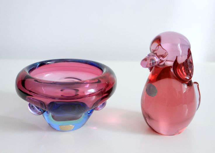 Purple bowl- Jan Beranek- Skrdlovice