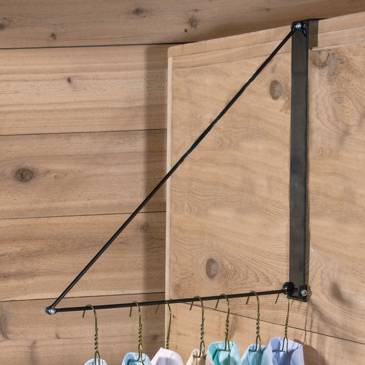 We love our Easy-Up® Collapsible Clothing Hanger! Organize your tack room home or away with this portable clothing hanger.
