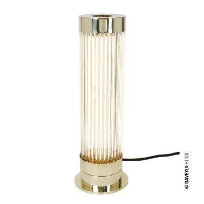 Lampe de table Pillar, Laiton Poli