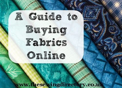 How to buy fabrics online.  Yet another brilliant #sewingdirectory guide added to this board.  Where would I be without them!
