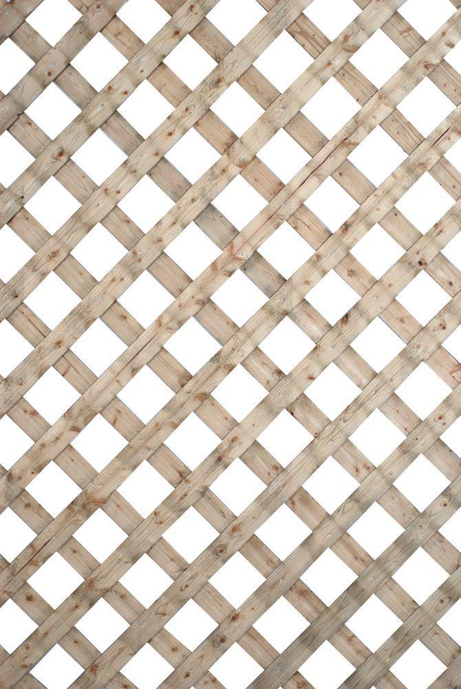Veranda 0 2 Inch x 48 Inch x 8 Feet Redwood Privacy Plastic