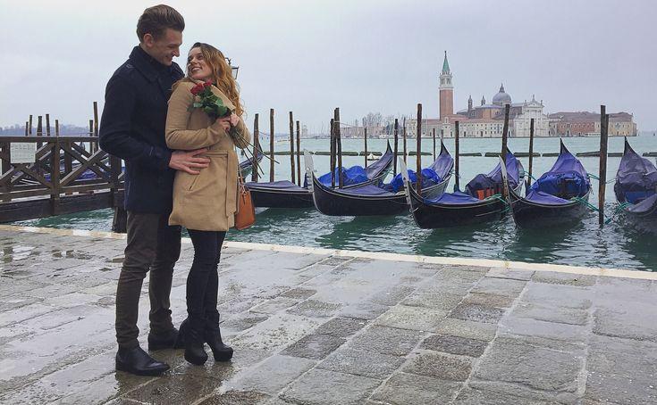 Valentine's Day Inspiration couple venezia