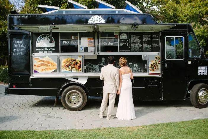 food truck na recepção