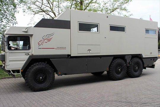 MAN KAT 6x6 Expedition Truck