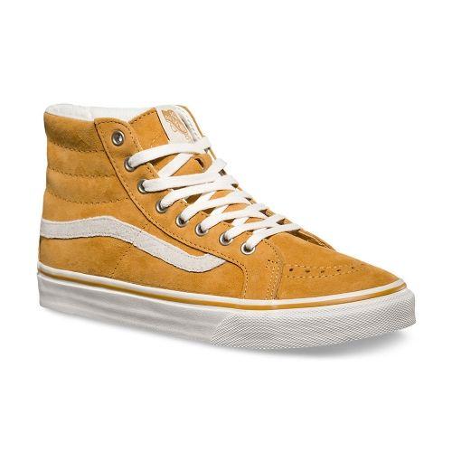 Chaussures De Skate Montantes Vans Sk8-hi Slim Chaussure Femme