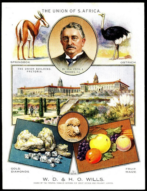 Cigarette Card - South Africa by cigcardpix, via Flickr