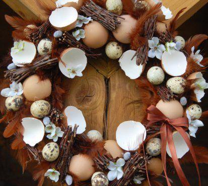Kropenatý velikonoční věnec