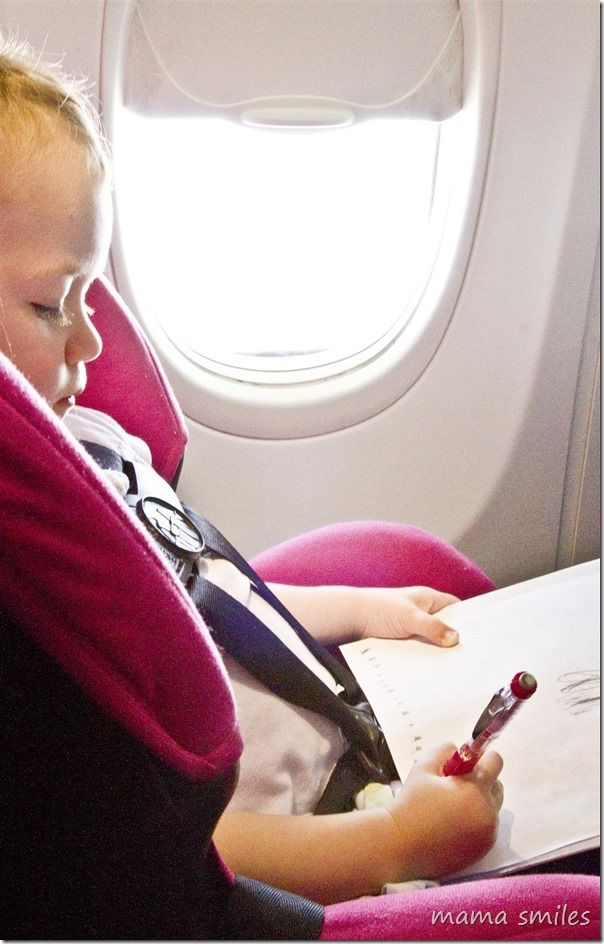 The ultimate guide to flying with kids - from a mom who has flown over FORTY times with babies and toddlers!