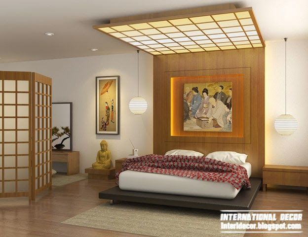 Marvelous Japanese Bedroom Interior Design, Japanese Style Bedroom Part 13