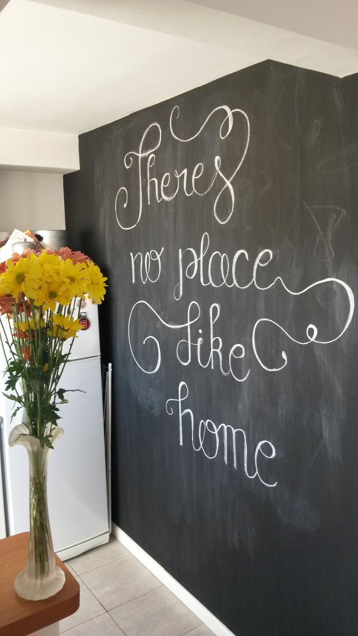 Home lettering