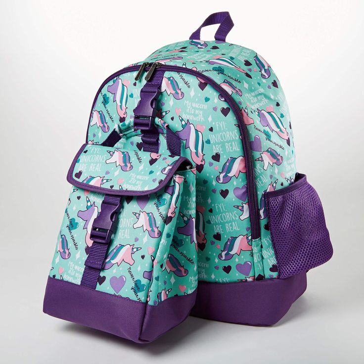 Elena Kids' School Backpack & Matching Insulated Lunch Bag
