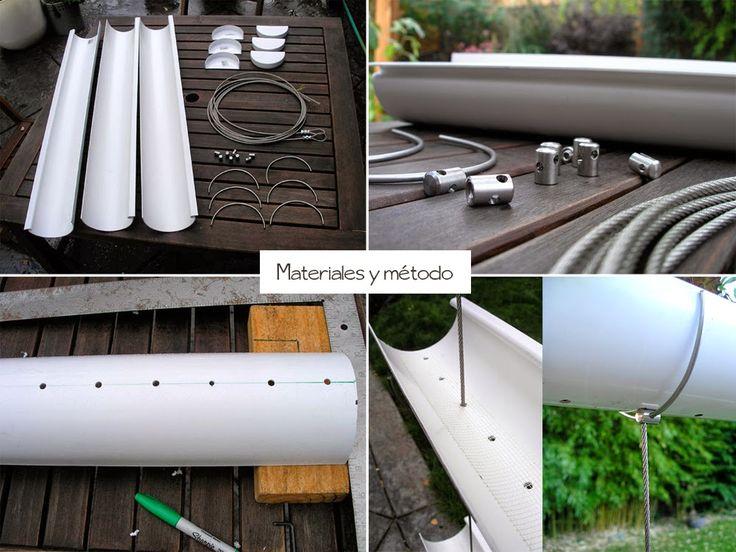 Invernadero vertical casero buscar con google huerto - Huerto vertical casero ...