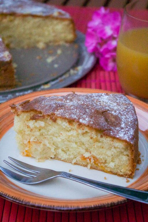 Torta rustica di pesche e albicocche  #dolci #torte #ricette #ricettedolci #pesche #albicocche #ricettestive