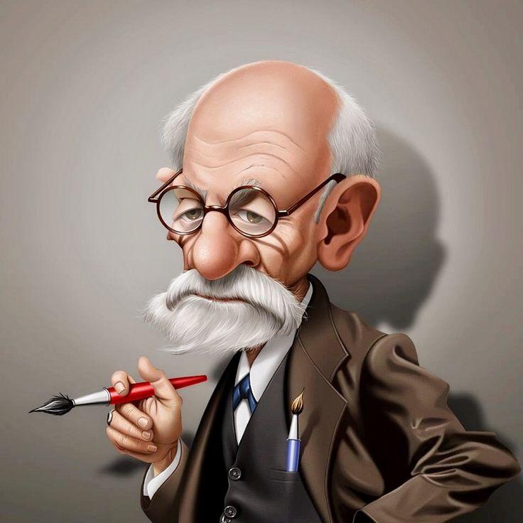 Sigmund Freud by Fernando Buigues